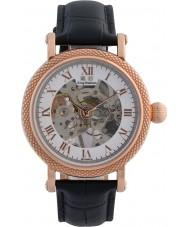 Krug-Baumen 60152DM Mens Prestige Black Leather Strap Watch
