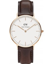 Daniel Wellington DW00100039 Ladies Classic Bristol 36mm Rose Gold Watch