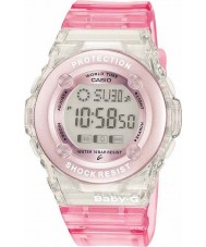 Casio BG-1302-4ER Ladies Baby-G Pink Chronograph Watch