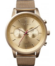 Triwa NEST104-ME021313 Gold Nevil Mesh Bracelet Chrono Watch