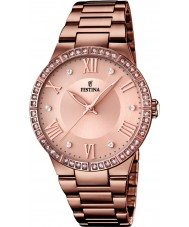 Festina F16801-1 Ladies Chocolate IP Plated Watch