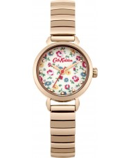 Cath Kidston Ladies Little Flower Buds Rose Gold Plated Bracelet Watch