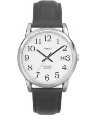 Timex T2H281 Mens White Black Easy Reader Watch
