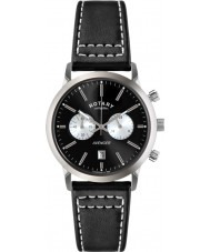Rotary GS02730-04 Mens Timepieces Sports Avenger Black Chronograph Watch