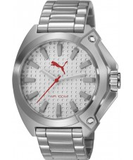 Puma PU103811005 Zone Silver Steel Bracelet Watch