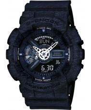 Casio GA-110HT-1AER Mens G-Shock World Time Black Combi Watch