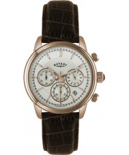 Rotary GS02879-06 Mens Timepieces Monaco Gold Brown Chronograph Sports Watch