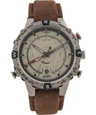 Timex T2N721 Mens Natural Brown Tide Temp Compass Watch