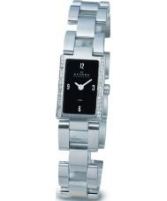 Skagen 499SSXB Ladies  Links Black Silver Watch