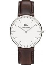 Daniel Wellington DW00100056 Ladies Classic Bristol 36mm Silver Watch