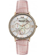 Ingersoll INQ034SLRS Ladies Pink Leather Strap Watch