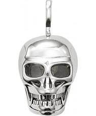 Thomas Sabo PE479-001-12 Mens 925 Sterling Silver Skull Pendant