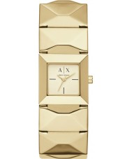 Armani Exchange AX4290 Ladies Urban Gold Plated Bracelet Watch
