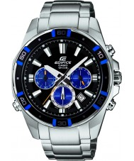Casio EFR-534D-1A2VEF Mens Edifice Silver Steel Bracelet Watch