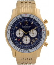 Krug Baümen 600104DS Mens Air Traveller Diamond Watch