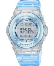 Casio BG-1302-2ER Ladies Baby-G Blue Chronograph Watch