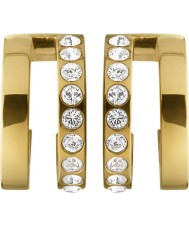 Dyrberg Kern 338266 Ladies Logue Gold Earrings