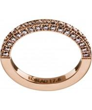 Edblad 41530054-S Ladies Stadion Ring Rose Gold - Size N (S)