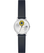 Orla Kiely OK2047 Ladies Valentina Black Leather Strap Watch