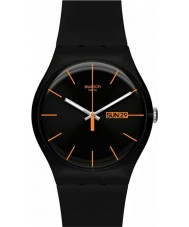 Swatch SUOB704 New Gent - Dark Rebel Watch