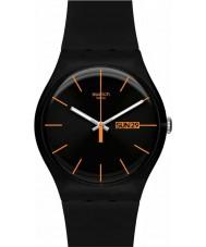 Swatch SUOB704 New Gent - Dark Rebel Watch