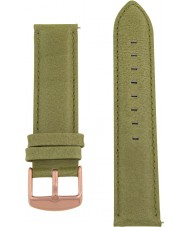 Charles Conrad CDA1006-18-L18 Olive Green Leather Strap