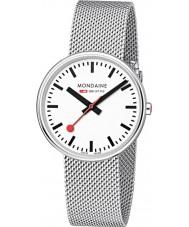 Mondaine A763-30362-11SBM Mini Giant Silver Steel Mesh Bracelet Watch