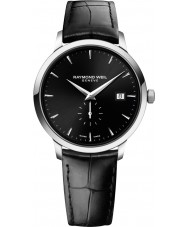 Raymond Weil 5484-STC-20001 Mens Toccata Black Leather Strap Watch