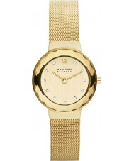 Skagen 456SGSG Ladies Klassik Gold Mesh Watch