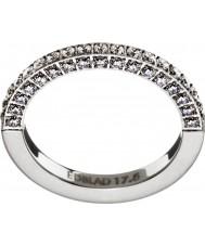 Edblad 41530055-S Ladies Stadion Silver Steel Ring - Size N (S)