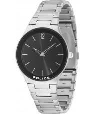Police 14565MS-02M Downtown Silver Steel Bracelet Watch