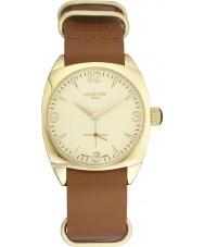 Minster 1949 MN04GLGL10 Mens Burlingham Tan Leather Strap Watch
