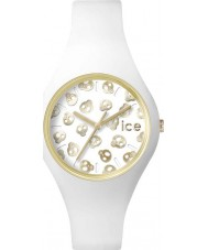 Ice-Watch ICE.SK.WE.S.S.15 Ladies Ice-Skull Small White Silicone Strap Watch