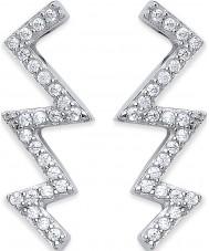 Purity 925 PUR3861-3 Ladies Flash Earrings