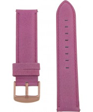 Charles Conrad CDA1006-18-L21 Pink Leather Strap