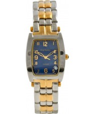 Krug Baümen 1964KM-T Mens Tuxedo Two Tone Steel Bracelet Watch