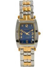 Krug Baümen 1964KM-T Mens Tuxedo Blue Steel Watch