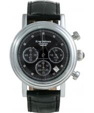 Krug-Baumen 150581DM Enterprise Diamond Black Dial