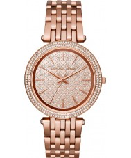 Michael Kors MK3399 Ladies Darci Rose Gold Plated Watch