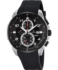 Festina F6841-2 Mens Chronograph Black Rubber Chronograph Watch