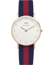 Daniel Wellington DW00100064 Ladies Classy Oxford 26mm Rose Gold Watch