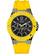 Guess W11619G5 Mens OVERDRIVE Yellow Watch