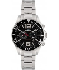 Rotary AGB00050-C-04 Mens Aquaspeed Black Steel Chronograph Watch