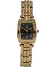 Krug Baümen 1965DL Tuxedo Diamond Black Dial Ladies Watch