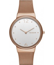 Skagen SKW2518 Ladies Freja Rose Gold Plated Mesh Watch