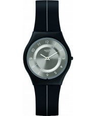 Swatch SFB145 Skin - My Silver Black Watch