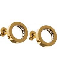 Edblad 41530035 Ladies Monaco Gold Studs