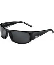 Bolle King Shiny Black Polarized TNS Sunglasses