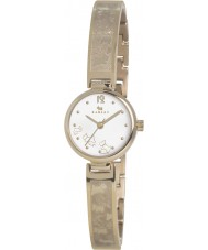 Radley Ladies Gold Plated Etched Half Bangle Watch