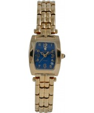 Krug Baümen 1964DL Tuxedo Diamond Blue Dial Ladies Watch